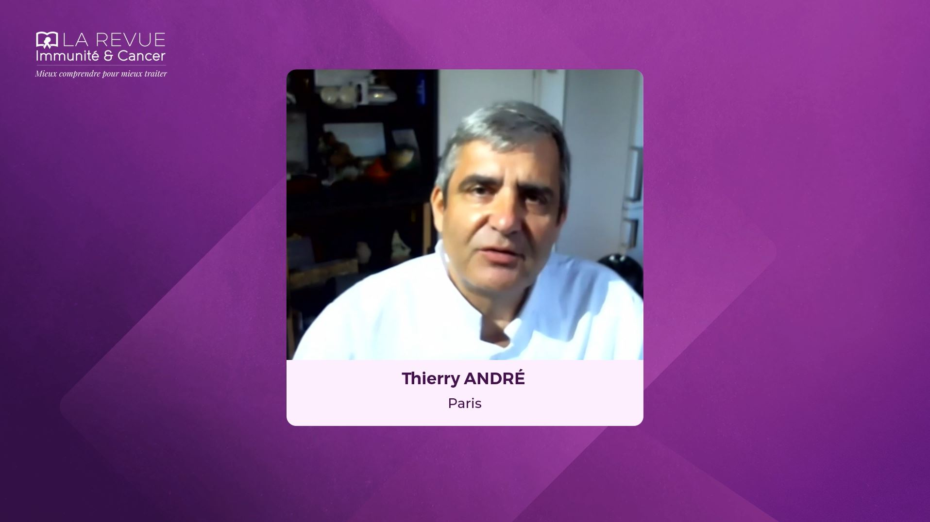 Thierry ANDRE, Paris